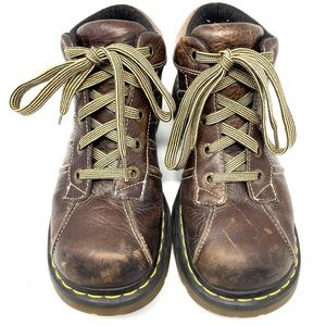 Doc Dr. Martens AirWair 2C01 Brown Ankle Boots